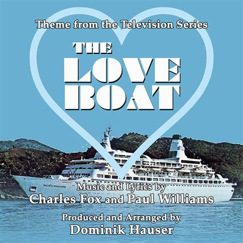 the love boat theme from the television series written - Paul Williams Love Boat Theme