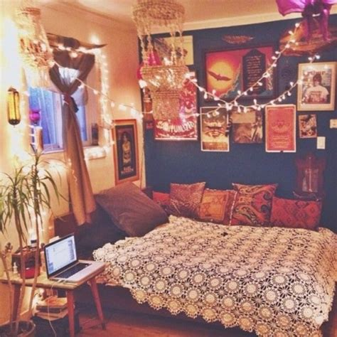 indie themed bedrooms bedroom room tapestry tumblr