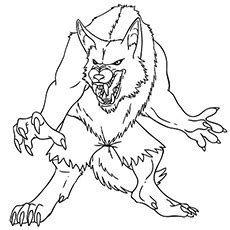 coloring pages scary monsters scary monster coloring sheets murderthestout