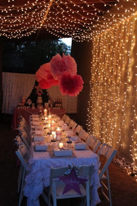 themes in her film under the stars tween teen outdoor birthday party planning