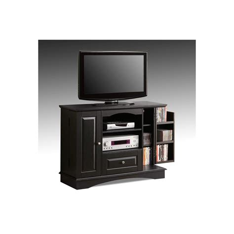 Bedroom Tv Stands | walker edison wq42bc3bl 42 quot bedroom tv stand black