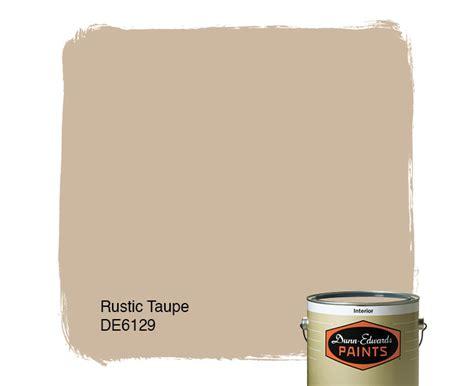 rustic taupe de6129 dunn edwards paints