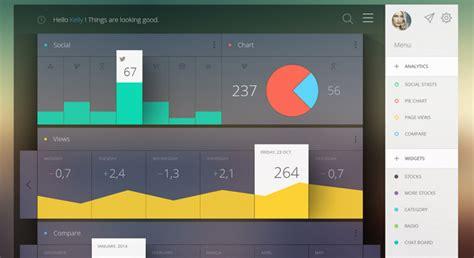 flat design effect 6 best flat dashboard web designs free dashboard templates