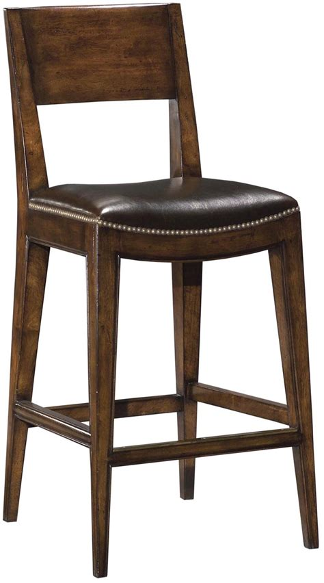 Distressed Wood Counter Stools by New Saddle Seat Counter Stool Brown Top Grain Leather