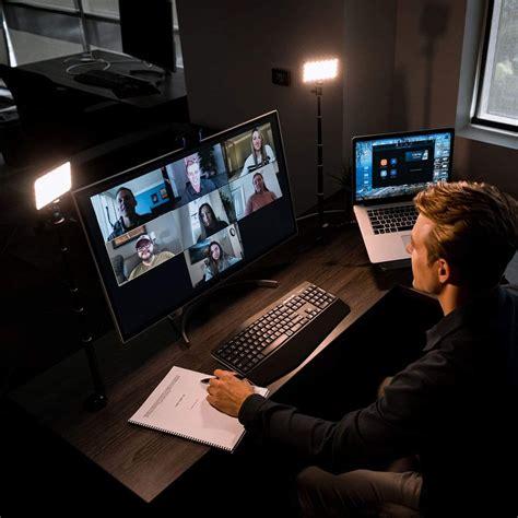 lights  zoom calls  video interviews