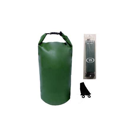 12 pack of cing 002 waterproof bag 20 liter green distributor