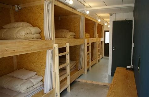 Japanese Bunk Bed Ten To Sen Let The Uniqueness You Takamatsu Hostel