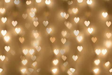 orangepeel paperie holiday lights overlay bokeh hearts
