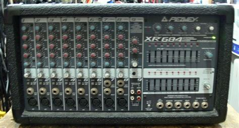 Mixer Radio usa pawnshop peavey 400sc xr684 stereo powered mixer