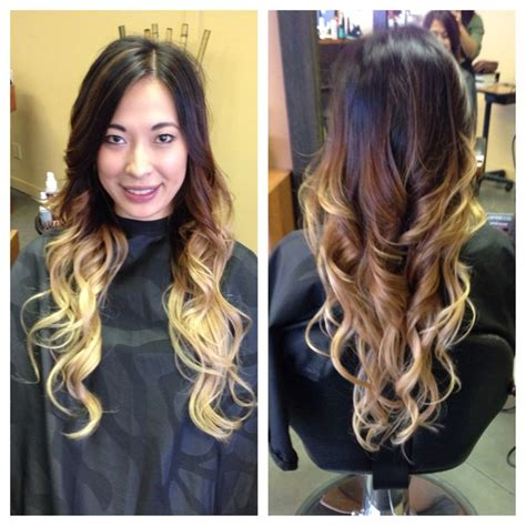 black and blonde ombre images dramatic black to blonde ombre beautyyyy inspiration