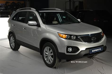 The New Kia Sorento Revealing The All New 2010 Kia Sorento Xm Kia News