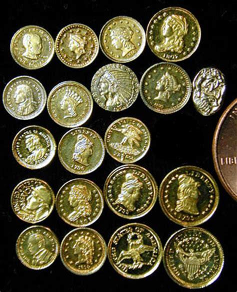 Miniatur Replica Us Twenty Dollar Golden Coin miniature u s coins coinsite