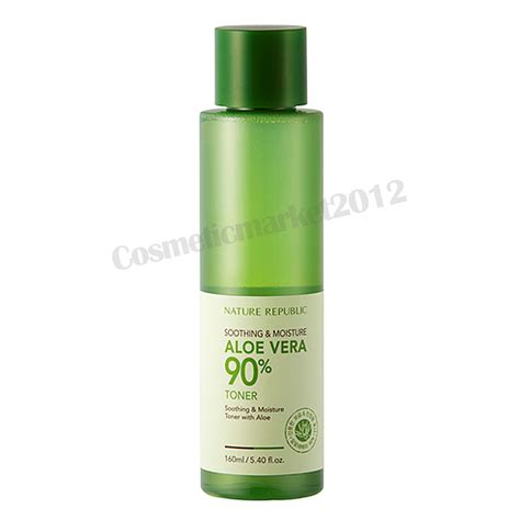 Nature Republic Soothing And Moisture Aloe Vera 90 Toner nature republic soothing moisture aloe vera 90 toner