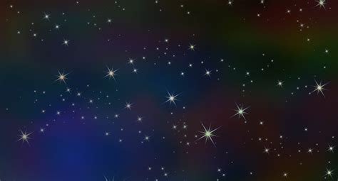 Led Sternenhimmel Mit Sternschnuppe