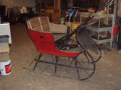 antique sleigh sleighs