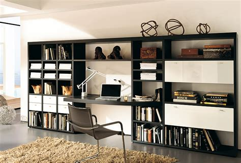 Schrankwand Mit Integriertem Schreibtisch