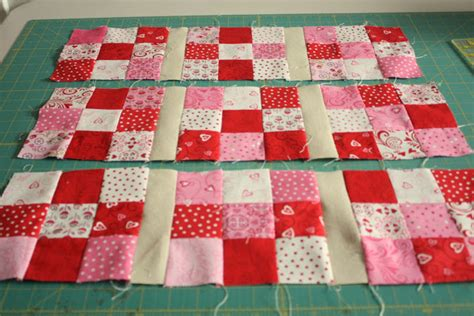 Nine Patch Quilt Tutorial by Nine Patch Mini Quilt Tutorial Diary Of A Quilter A