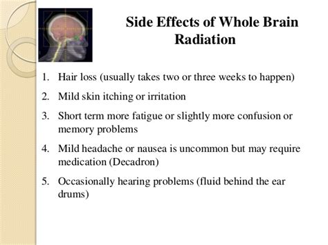 Effects Of Hair Dryer On The Brain radiation for glioblastoma