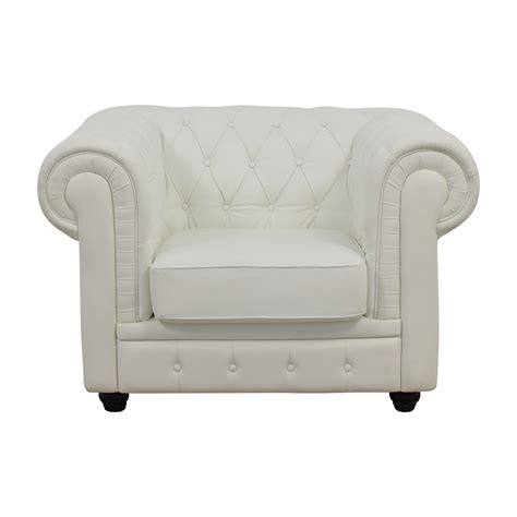 White Leather Accent Chair by 46 Ikea Strandmon Accent Armchair Chairs