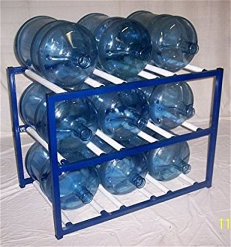 5 Gallon Bottle Rack by Shaco Racks 5 Gallon Water Bottle Storage Rack With 9