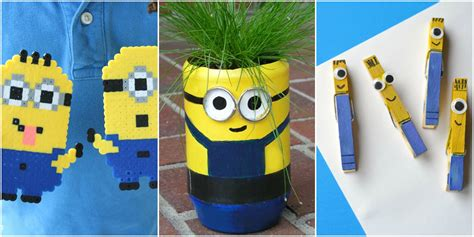 minion craft projects minion crafts minion diy projects