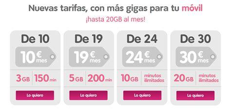 nuevas tarifas de islr nuevas tarifas a medida con m 225 s gb en tu m 243 vil blog