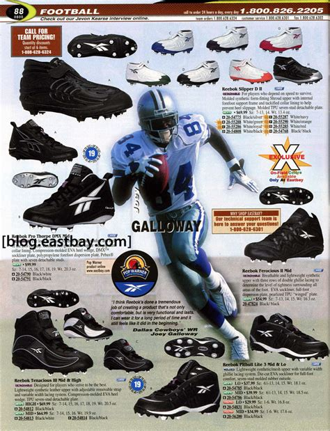 eastbay football shoes eastbay memory football 2000 featuring randy moss
