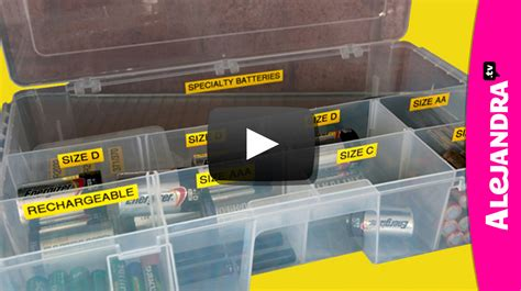 alejandra organization video how to organize batteries part 9 of 9 home