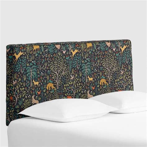 World Market Headboard by Folkland Loran Upholstered Headboard World Market