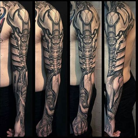 biomechanical tattoo montreal 42 best hyper realistic tattoos images on pinterest