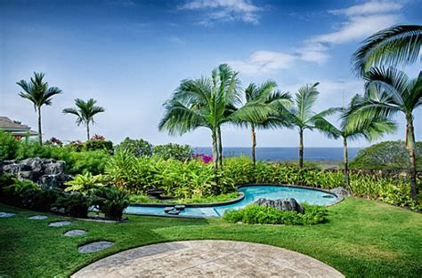 backyard view exclusive new listing with ocean views at keauhou estates