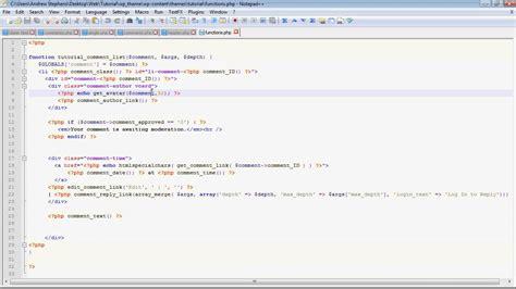 wordpress tutorial list wordpress theme tutorial part 5a customizing your