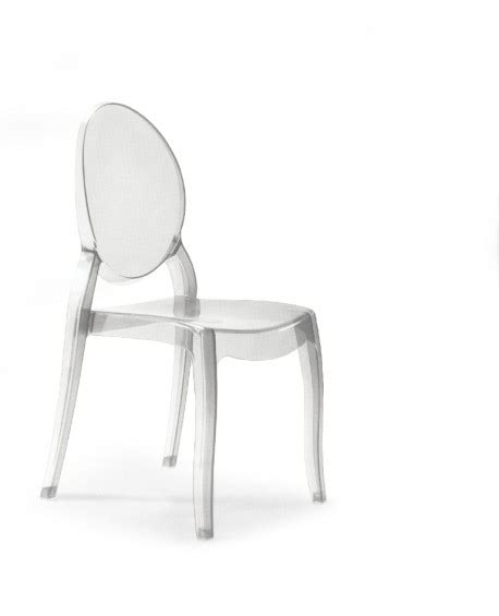 sedie trasparenti prezzi sedia moderna in policarbonato trasparente