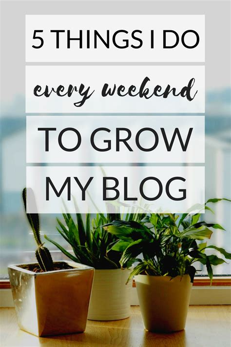 5 Things To Start Your Weekend With by 5 Things I Do Every Weekend To Grow My Pack Your