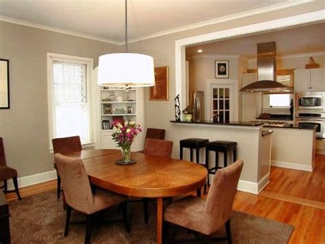 Combining Kitchen And Dining Room by Elegance Look In Combining Kitchen And Dining Room