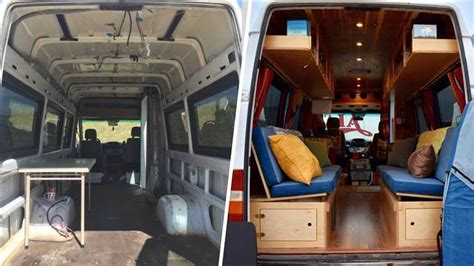 beautiful hand crafted sprinter van conversion home