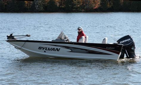 sylvan explorer 1600 sc powerboating - Sylvan Explorer Boats