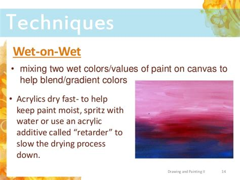 acrylic paint tools tips and techniques