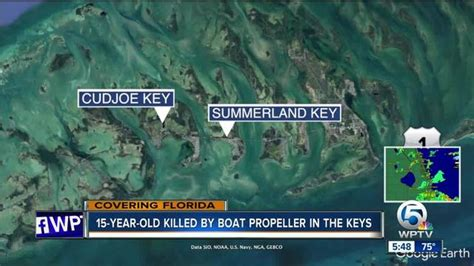 boat propeller killed boat propeller kills teen in the florida keys wptv