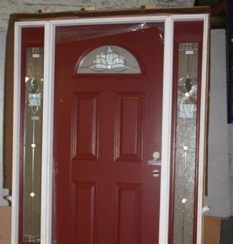 Pella Entry Door by Pella 60 5 Quot X 81 5 Quot Front Entry Door With Side Lites Ebay