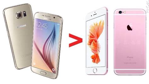 8 reasons why the samsung galaxy s6 is better than the iphone 6s smart zone