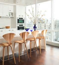 Small White Kitchen Island 10 trendy bar and counter stools to complete your modern