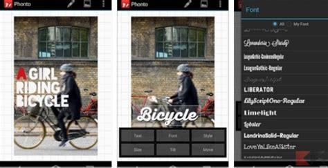 aggiungere testo alle foto app per aggiungere testo alle foto android e iphone
