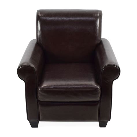 dark brown leather armchair 65 off door store door store dark brown leather