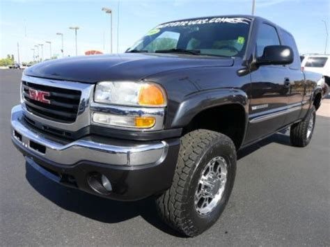 how to fix cars 2003 gmc sierra 2500 parking system sell used 2003 gmc sierra 2500hd sle extra cab 4x4 used custom lifted truck low miles in