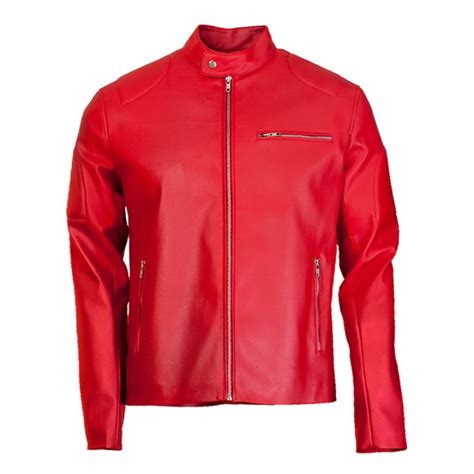 red leather motorcycle jacket leather motorcycle jackets jackets