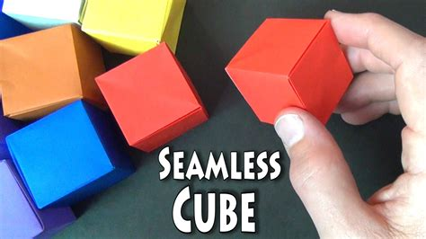 Origami Cube Ring - origami cube ring 28 images how to make origami cube