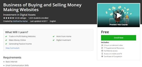 making money buying and selling houses udemy free business of buying and selling moneymaking websites free udemy courses