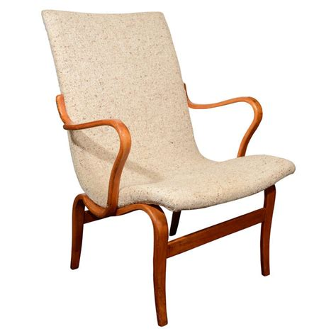 mid century bruno mathsson chair w original upholstery at