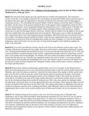Iliad Story Outline by Eng 7 F 15 Reading Journal 7writing Questions For Reading Journal Prof Semeiks This Is